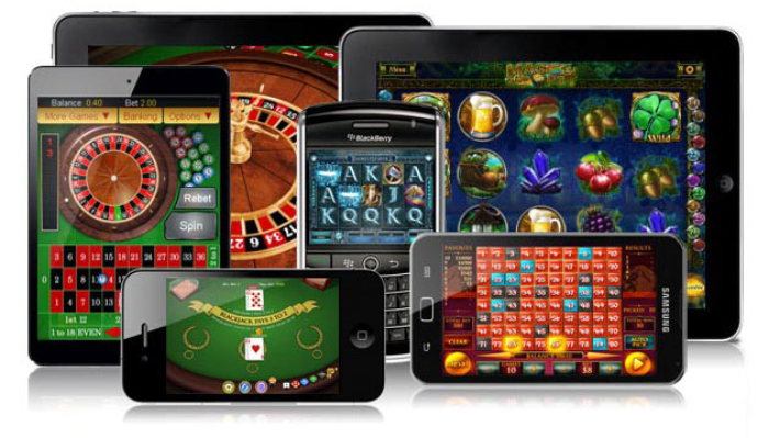 Mobiele casino spellen