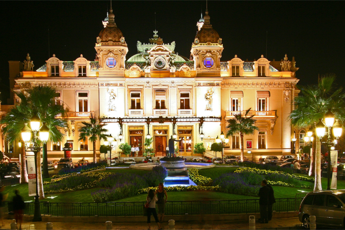 """Het Monte Carlo Casino in Monaco"""